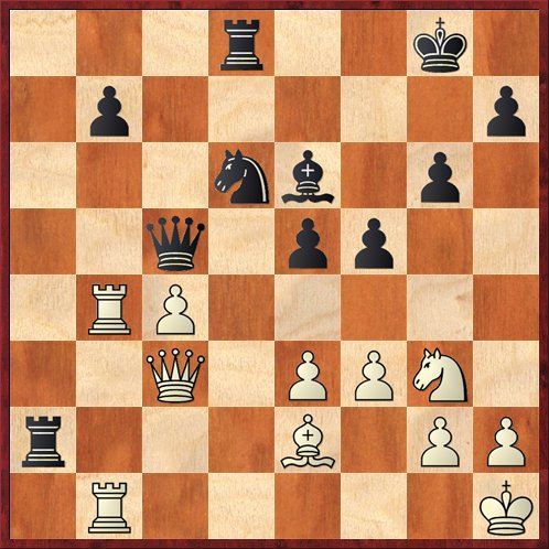 Position after 24. Kh1. Black to move.