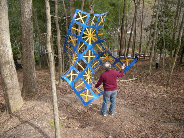 Hyperbolic chessboard