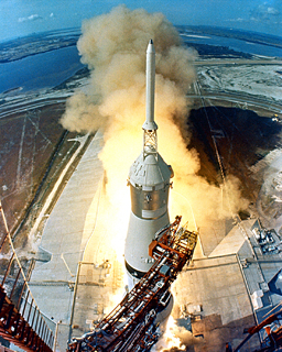 Apollo 11 Launch -- 9:32 AM, July 16, 1969